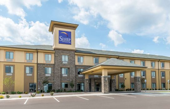 Exterior view Sleep Inn and Suites Cumberland-LaVale