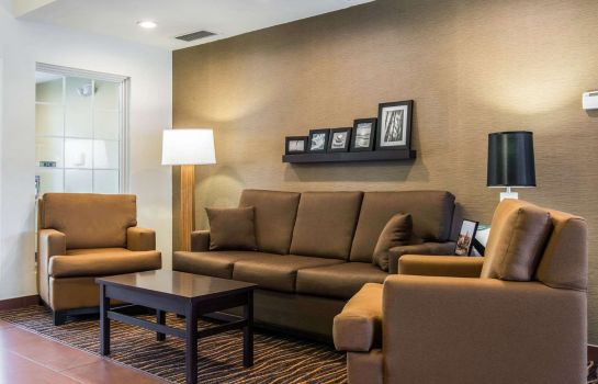 Hol hotelowy Sleep Inn & Suites Pittsburgh