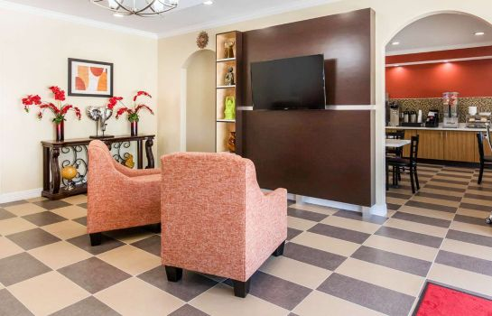 Vestíbulo del hotel Econo Lodge Inn & Suites Spring - Houston North