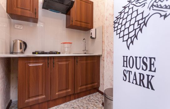 Hotel kitchen Winterfell on Smolenskaya