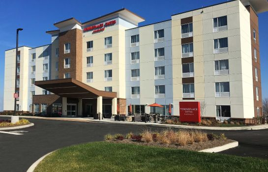 Exterior view TownePlace Suites Grove City Mercer/Outlets