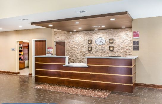 Lobby Comfort Suites Houston I-45 North