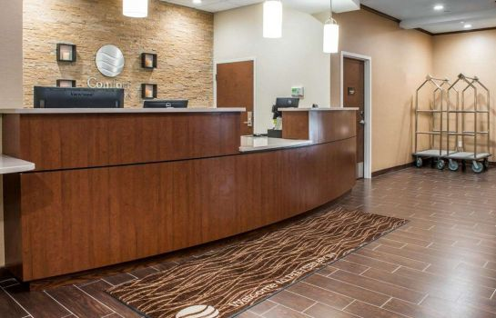 Hall de l'hôtel Comfort Inn & Suites Pittsburgh