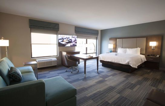 Zimmer Hampton Inn and Suites by Hilton Downtown St Paul MN