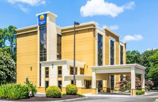 Vista exterior Comfort Inn Newport News/Williamsburg East