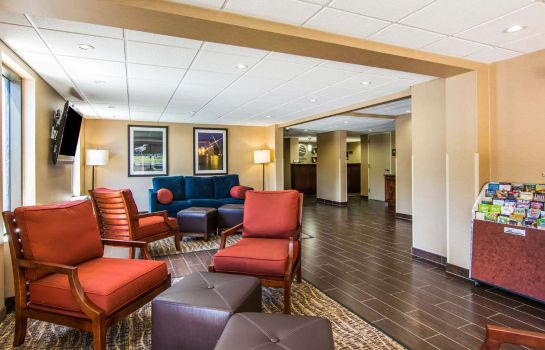 Lobby Comfort Inn Newport News/Williamsburg East