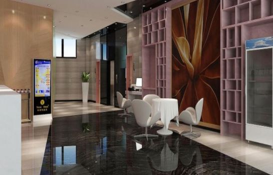 Hol hotelowy Yeste Hotel Nanning Tingjiang Road