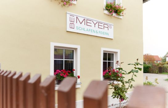 Exterior view Pension Bei Meyers