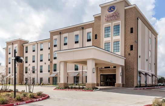 Vista exterior Comfort Suites Northwest Houston at Beltway 8