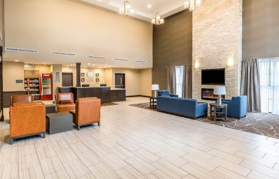 Vestíbulo del hotel Comfort Suites Northwest Houston at Beltway 8