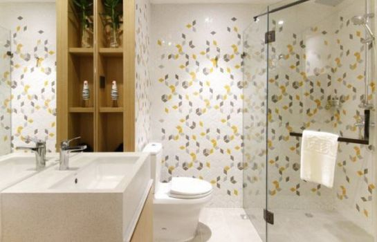 Bathroom Sweetome Boutique Apartment Shanghai East Nanjing Road