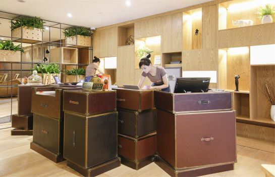Reception Sweetome Boutique Apartment Shanghai East Nanjing Road