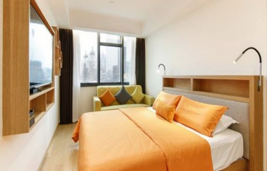 Single room (standard) Sweetome Boutique Apartment Shanghai East Nanjing Road
