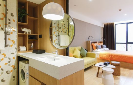Single room (superior) Sweetome Boutique Apartment Shanghai East Nanjing Road
