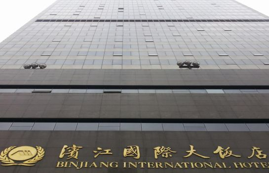Exterior view Binjiang International Hotel