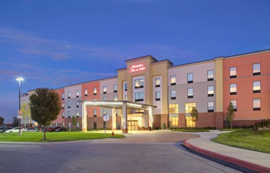 Widok zewnętrzny Hampton Inn and Suites by Hilton Columbus Scioto Downs OH