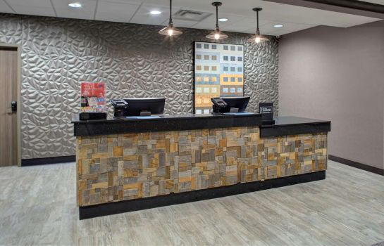 Hotelhalle Hampton Inn and Suites by Hilton Columbus Scioto Downs OH