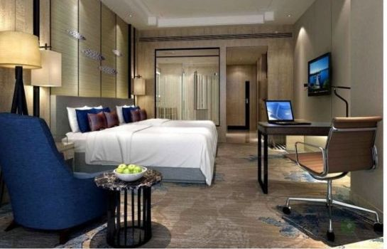 Chambre double (standard) Days Inn Business Place Boyue Yantai