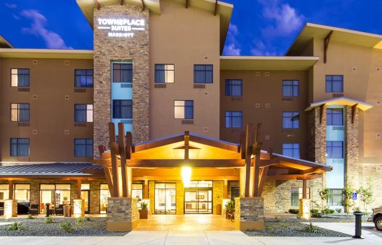 Exterior view TownePlace Suites Big Spring