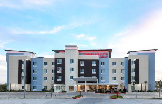 Exterior view TownePlace Suites McAllen Edinburg