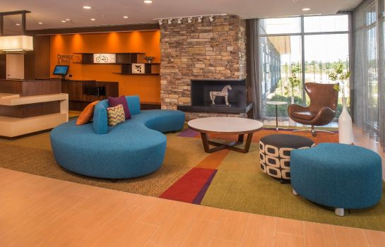 Vestíbulo del hotel Fairfield Inn & Suites Richmond Ashland