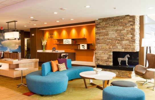 Hol hotelowy Fairfield Inn & Suites Sheridan