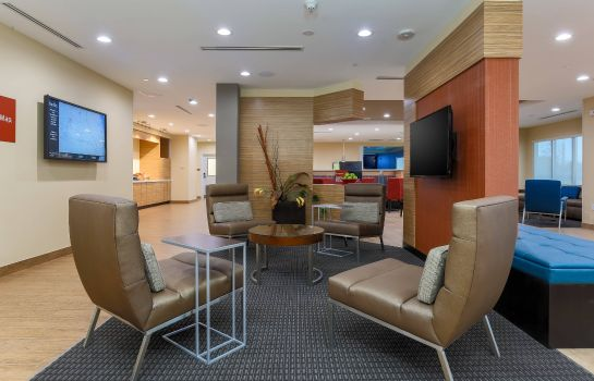 Lobby TownePlace Suites McAllen Edinburg