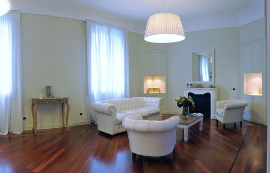 Vista all'interno B&B Thea Monza Bed&Luxury