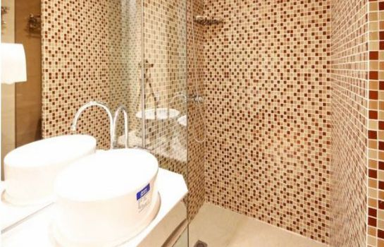 Bagno in camera Idler's Town Hotel Apartment