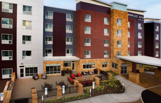 Exterior view TownePlace Suites Pittsburgh Cranberry Township