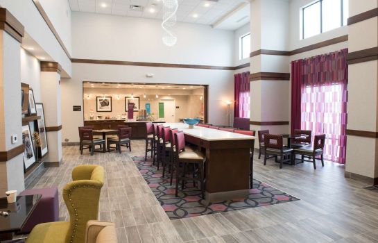 Hotelhalle Hampton Inn - Suites Bay City