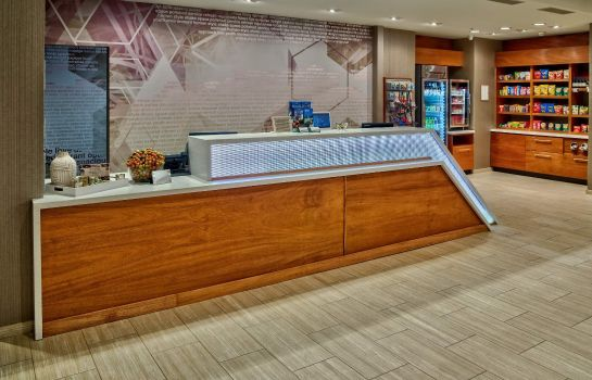 Hol hotelowy SpringHill Suites Amarillo