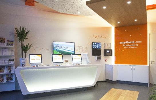 Reception easyHotel Amsterdam Arena Boulevard