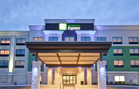 Exterior view Holiday Inn Express EVANSVILLE