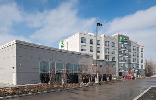Vista esterna Holiday Inn Express RED DEER NORTH