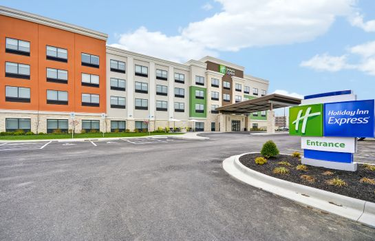 Buitenaanzicht Holiday Inn Express EVANSVILLE