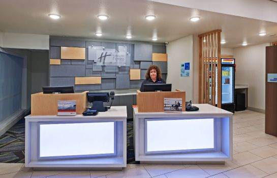 Vestíbulo del hotel Holiday Inn Express & Suites BRENHAM SOUTH