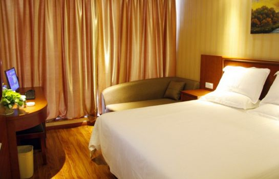 Widok wewnątrz GreenTree Inn Anhui Chuzhou World Trade Plaza Longpan Express Hotel (Domestic only)