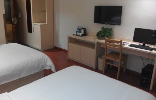 Double room (standard) GreenTree Inn Songjiang Steel City (Domestic only)
