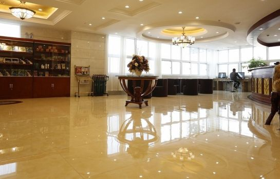 Vestíbulo del hotel GreenTree Inn Changcheng Huandao (Domestic only)