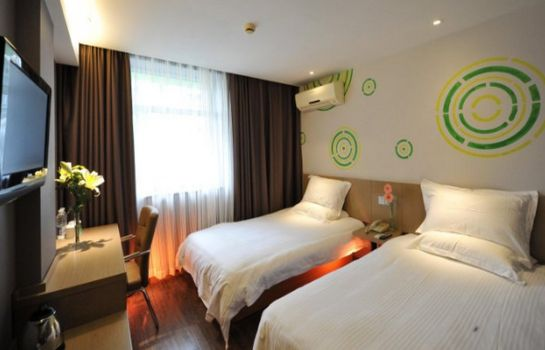 Double room (standard) GreenTree Inn Middle YanChang Road HuTai Road Express Hotel