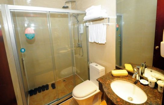 Bagno in camera GreenTree Inn LiuAn Railway East Station Passenger Station Express Hotel