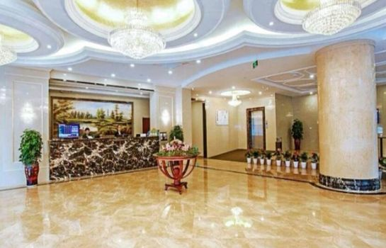 Hall GreenTree Inn HuZhou AnJi YingBin Avenue Express Hotel