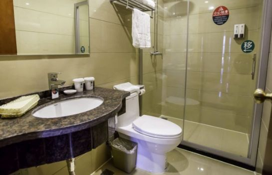 Bagno in camera GreenTree Inn Bozhou Agricultural Trade City Express Hotel