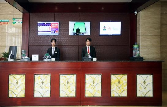 Reception GreenTree Inn LuoYang YiChuan Yilong Avenue Express Hotel