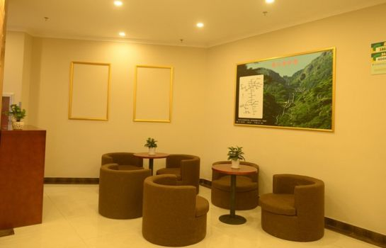 Vista all'interno GreenTree Inn Tai'an East Railway Station Caiyuan Street Express Hotel