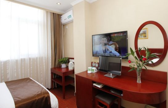 Innenansicht GreenTree Inn RiZhao Bus Station FuHai East Road Express Hotel