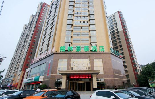 Imagen GreenTree Inn Tengzhou Xueyuan East Road Guiheyuan Business Hotel