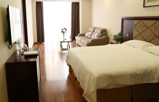 Vista all'interno GreenTree Inn Chengdu Airport Road Zhujiang Road Express Hotel