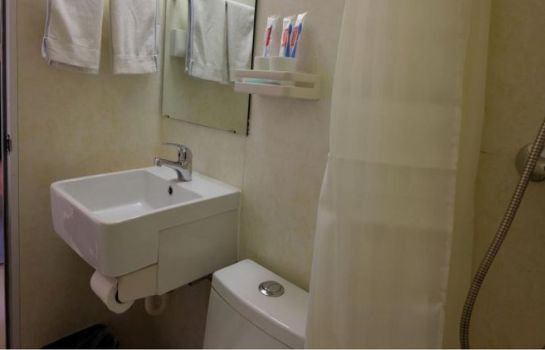 Bagno in camera Joyinn-Jinan Qianfoshan Branch Domestic only